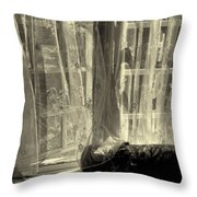 Remembering The Softness Of Your Touch Throw Pillow