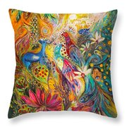Remembering Yotvata Throw Pillow