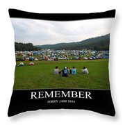 Rememeber Throw Pillow