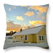 Remick Farm Throw Pillow