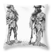 Remington Frontiersmen Throw Pillow