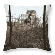 Reminiscent Of Earlier Travel Throw Pillow