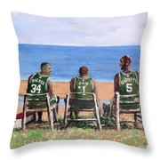 Reminiscing The Good Old Days Throw Pillow