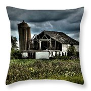 Remnants Of The Past Throw Pillow
