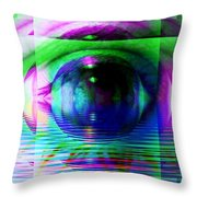 Remote Viewing Throw Pillow