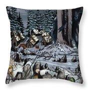 Remote Village Throw Pillow