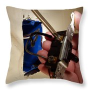 Removing A Switch Throw Pillow