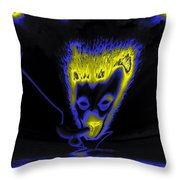 Rendezvous By Night Throw Pillow