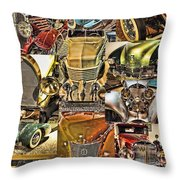 Reno Auto Museum 2 Throw Pillow