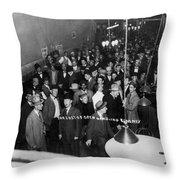 Reno Casino, 1910 Throw Pillow