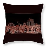 Reno Night Life Throw Pillow