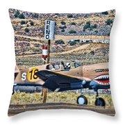 Reno Races 3 Throw Pillow