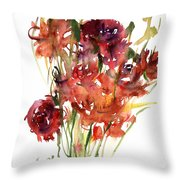 Renoncules Throw Pillow