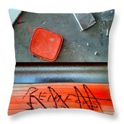 Renovation Wonderland Throw Pillow