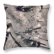 Repeat To Gesture  Throw Pillow