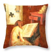 Repentance Throw Pillow