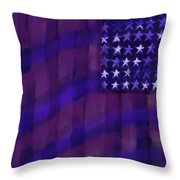 Repersentational Flag 3 Throw Pillow