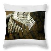 Reptile's Brush Throw Pillow