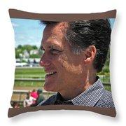 Republican Mitt Romney Throw Pillow