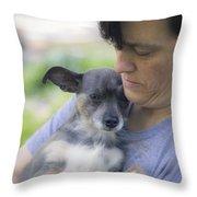 Rescue Throw Pillow