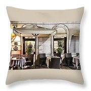 Reservations Only Venice Italy Throw Pillow