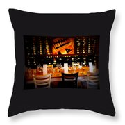 Reservations Throw Pillow