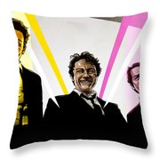 Reservoir Dogs Throw Pillow by Jeremy Scott