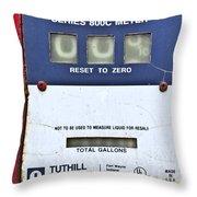 Reset To Zero Throw Pillow
