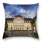 Residence Castle Arolsen Throw Pillow