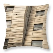 Chelsea High Line Residential Building Throw Pillow