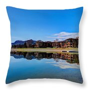 Resort Reflections 2 Throw Pillow