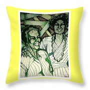 Respect Your Heritage Throw Pillow