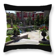Respite In The City Throw Pillow