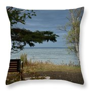 Rest And Relaxation Throw Pillow
