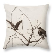 Rest Area II Throw Pillow