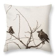 Rest Area IIi Throw Pillow