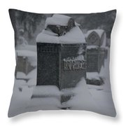 Rest In Winter Peace Throw Pillow