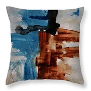 Restart Throw Pillow by Andrea Anderegg