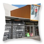 Restart Container Stores Throw Pillow