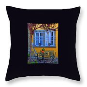 Restful Scene Throw Pillow