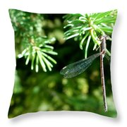 Resting For A Moment Throw Pillow