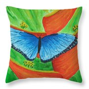 Resting Gently Throw Pillow