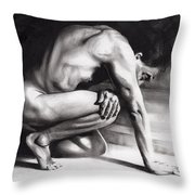 Resting Il Throw Pillow