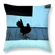Resting On The Porch  Throw Pillow