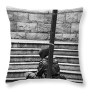 Resting Pole  Throw Pillow