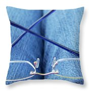 Resting The Eyes Throw Pillow