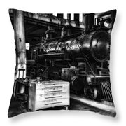 Restoration 2 In Monochrome Hdr Throw Pillow