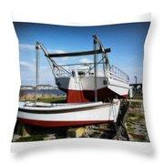 Restoration Of The Ann Mcgarvey Throw Pillow