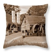 Restoration One Throw Pillow