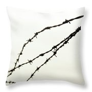 Restricted Throw Pillow